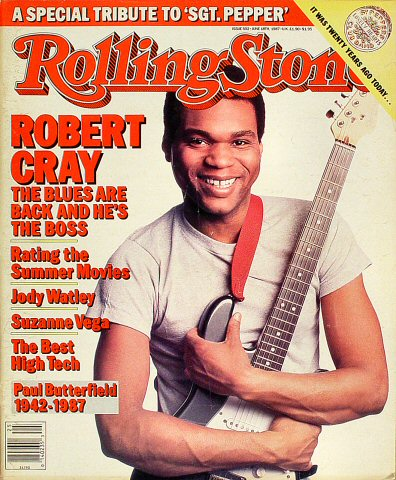 Robert Cray Rolling Stone Magazine  on 18 Jun 87: Magazine