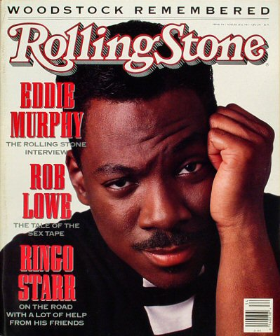 Eddie Murphy Rolling Stone Magazine  on 24 Aug 89: Magazine