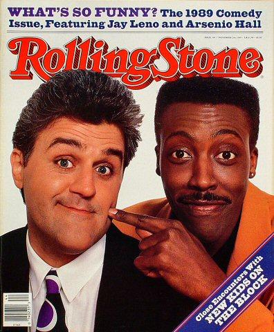 Jay Leno Rolling Stone Magazine  on 02 Nov 89: Magazine
