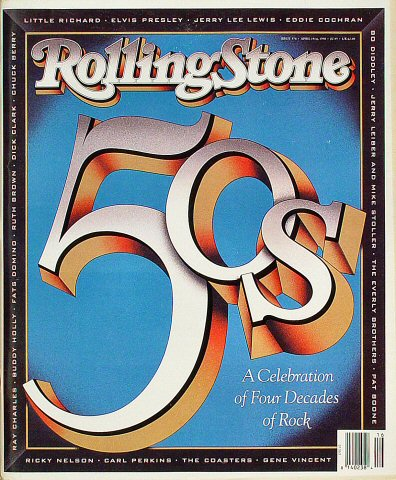 Little Richard Rolling Stone Magazine  on 19 Apr 90: Magazine