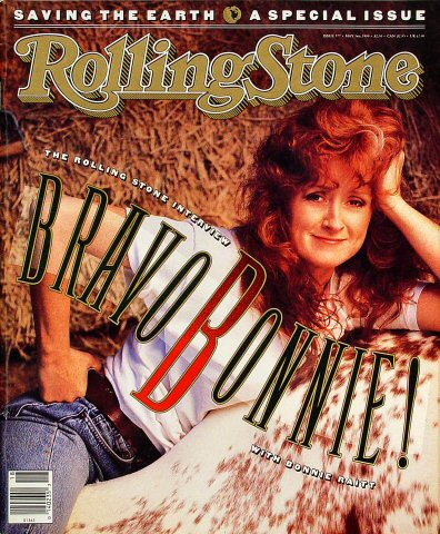Bonnie Raitt Rolling Stone Magazine  on 03 May 90: Magazine
