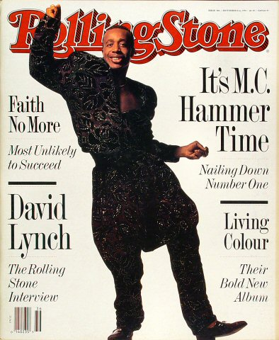 M.C. Hammer Rolling Stone Magazine  on 06 Sep 90: Magazine