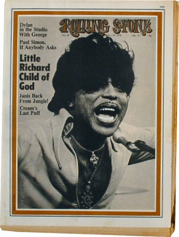 Little Richard Rolling Stone Magazine  on 28 May 70: Magazine