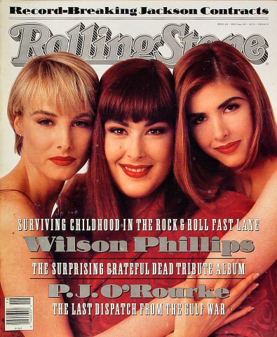 Wilson Phillips Rolling Stone Magazine  on 02 May 91: Magazine