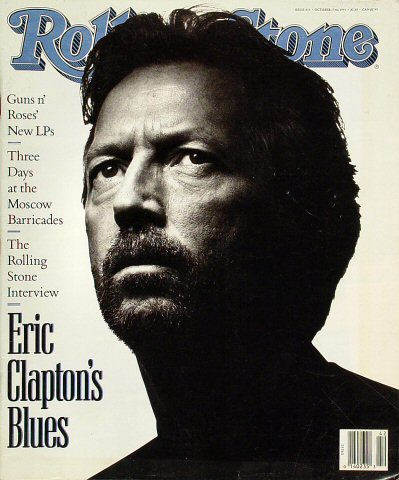 Eric Clapton Rolling Stone Magazine  on 17 Oct 91: Magazine