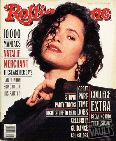 10,000 Maniacs Rolling Stone Magazine  on 18 Mar 93: Magazine
