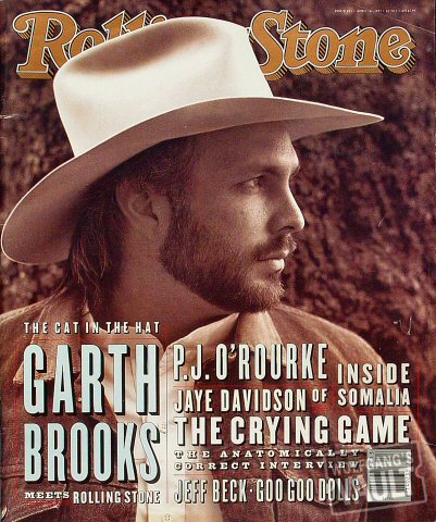 Garth Brooks Rolling Stone Magazine  on 01 Apr 93: Magazine