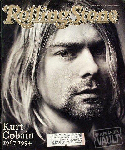 Kurt Cobain Rolling Stone Magazine  on 02 Jun 94: Magazine