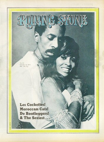 Ike & Tina Turner Rolling Stone Magazine  on 14 Oct 71: Magazine
