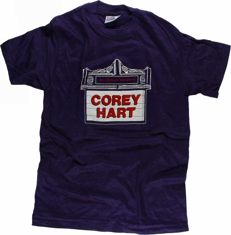 Corey Hart Men's Vintage T-Shirt from Santa Cruz Civic Auditorium on 27 Nov 85: Medium