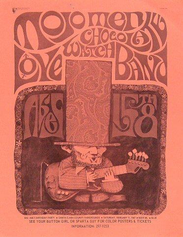 """The Mojo Men Handbill from Santa Clara County Fairgrounds on 11 Feb 67: 8 1/2"""" x 11"""""""