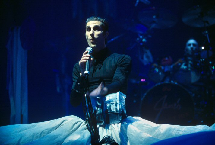 Perry Farrell BG Archives Print from Shoreline Amphitheatre on 26 Oct 01: 16x20 C-Print