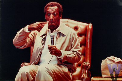 Bill Cosby Vintage Print from Shoreline Amphitheatre on 29 Aug 86: 20x30 C-Print Mounted