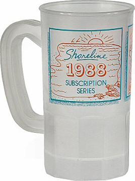 Jethro Tull Vintage Mug from Shoreline Amphitheatre on 01 Jun 88: Mug