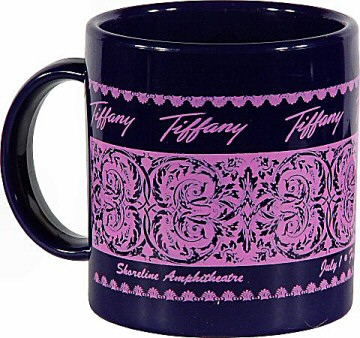 Tiffany Vintage Mug from Shoreline Amphitheatre on 01 Jul 88: Mug