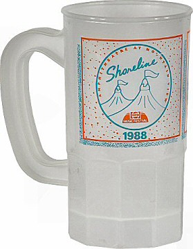 Alabama Vintage Mug from Shoreline Amphitheatre on 23 Jul 88: Mug