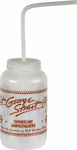 George Strait H2O Bottle from Shoreline Amphitheatre on 12 Aug 89: Waterbottle