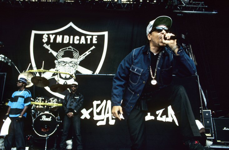 Ice-T BG Archives Print from Shoreline Amphitheatre on 26 Jul 91: 16x20 C-Print