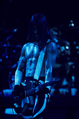 Anthony Kiedis BG Archives Print from Shoreline Amphitheatre on 18 Jul 92: 11x14 C-Print