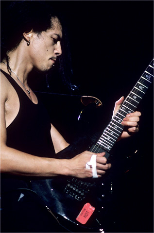 Kirk Hammett BG Archives Print from Shoreline Amphitheatre on 22 Jul 94: 16x20 C-Print