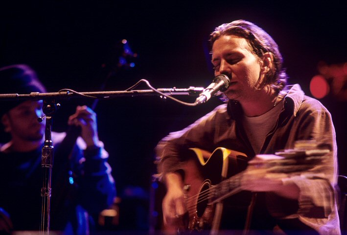 Eddie Vedder BG Archives Print from Shoreline Amphitheatre on 19 Oct 96: 11x14 C-Print