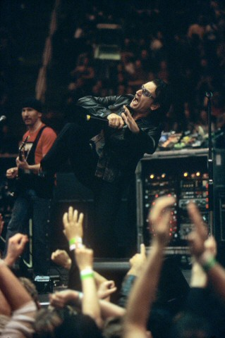 Bono BG Archives Print from San Jose Arena on 20 Apr 01: 16x20 C-Print