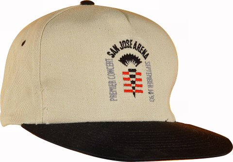 James Taylor Men's Vintage Hat from San Jose Arena on 14 Sep 93: Baseball Cap
