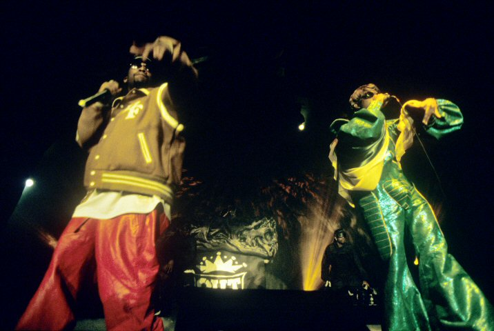 Outkast BG Archives Print from San Jose Event Center on 26 Mar 01: 11x14 C-Print