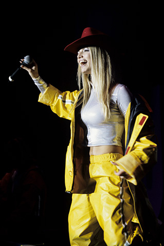 Jessica Simpson BG Archives Print from San Jose State Event Center on 07 Apr 99: 11x14 C-Print