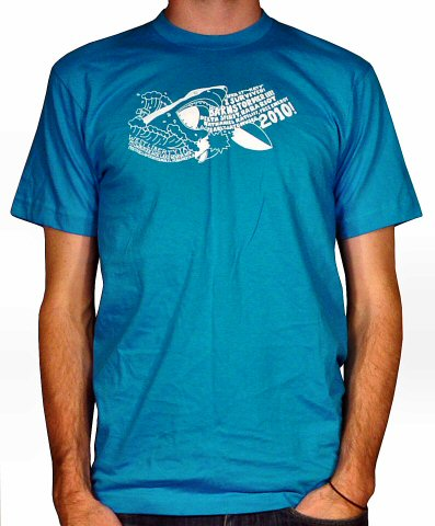 Ra Ra Riot Men's Retro T-Shirt from Secrest 1883 Octagonal Barn on 27 Apr 10: Medium