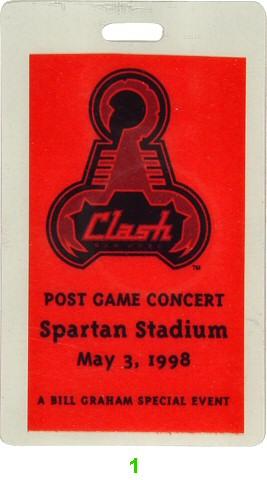 Stroke 9 Laminate from Spartan Stadium on 03 May 98: Laminate 1