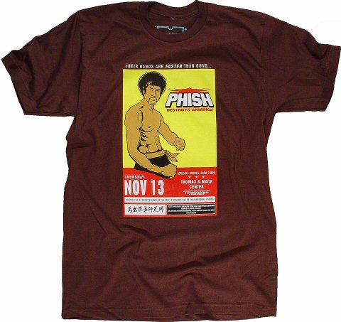 Phish Men's Retro T-Shirt from Thomas & Mack Center on 13 Nov 97: XX Large