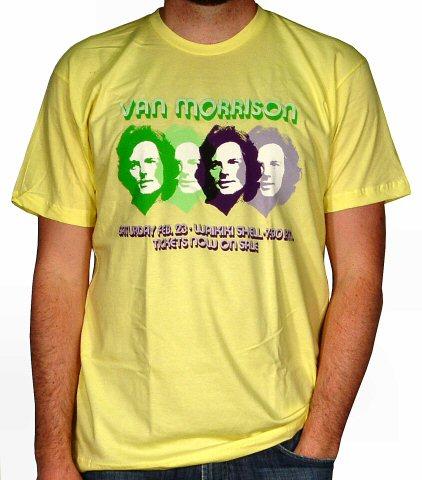 Van Morrison Men's Retro T-Shirt from Waikiki Shell on 23 Feb 74: X Large