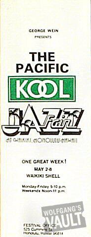 "Al Green Program from Waikiki Shell on 02 May 77: 3 1/4"" x 8 1/2"""