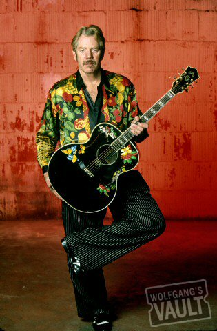 Dan Hicks BG Archives Print from Warfield Theatre on 09 Dec 01: 16x20 C-Print