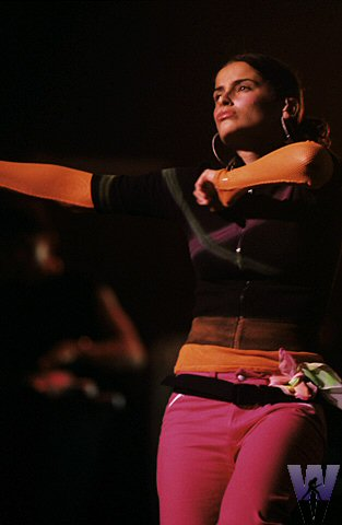 Nelly Furtado BG Archives Print from Warfield Theatre on 15 Feb 02: 16x20 C-Print