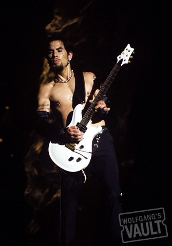 Dave Navarro BG Archives Print from Warfield Theatre on 20 Jul 02: 11x14 C-Print