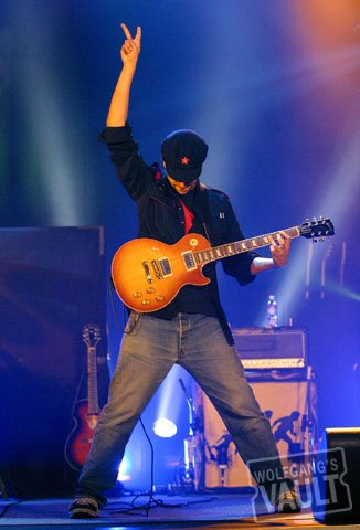 Tom Morello Fine Art Print from Warfield Theatre on 19 Mar 03: 11x14 C-Print Matted & Signed