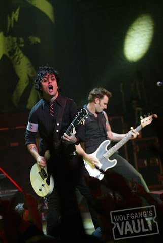 Billie Joe Armstrong Fine Art Print from Warfield Theatre on 13 Oct 05: 16x20 C-Print Matted & Signed