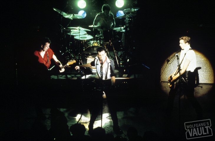 The Clash BG Archives Print from Warfield Theatre on 01 Mar 80: 16x20 C-Print