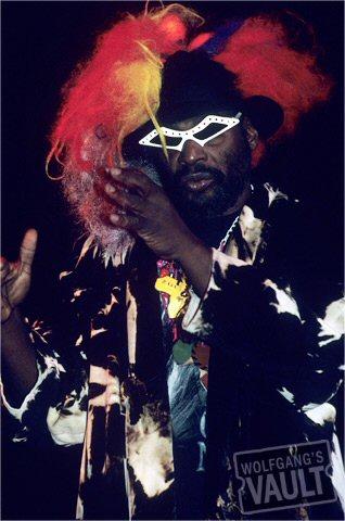 George Clinton BG Archives Print from Warfield Theatre on 17 Nov 89: 11x14 C-Print