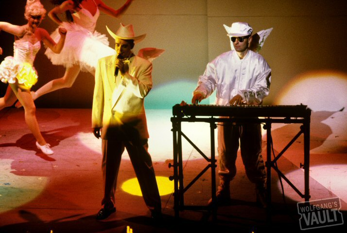 Pet Shop Boys BG Archives Print from Warfield Theatre on 27 Mar 91: 11x14 C-Print