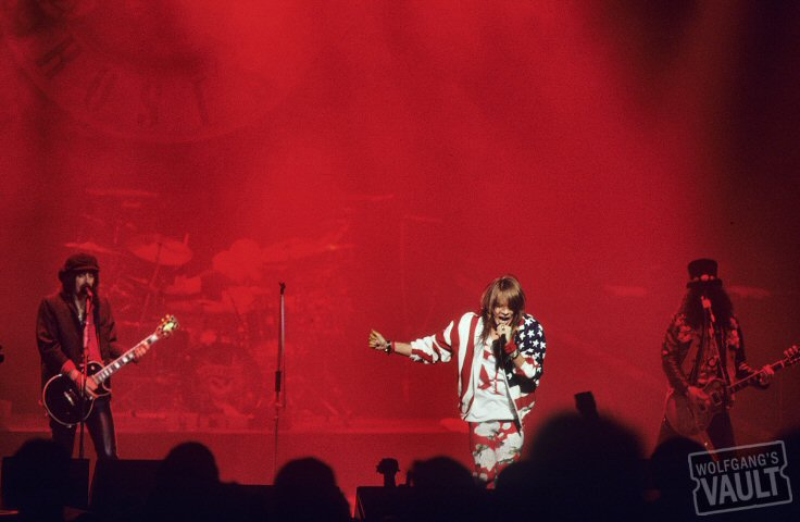 Guns N' Roses BG Archives Print from Warfield Theatre on 09 May 91: 11x14 C-Print