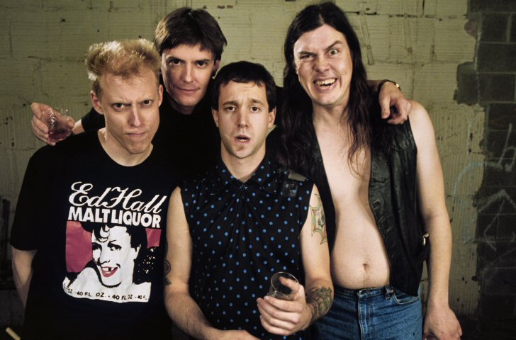 Butthole Surfers BG Archives Print from Warfield Theatre on 19 May 91: 16x20 C-Print