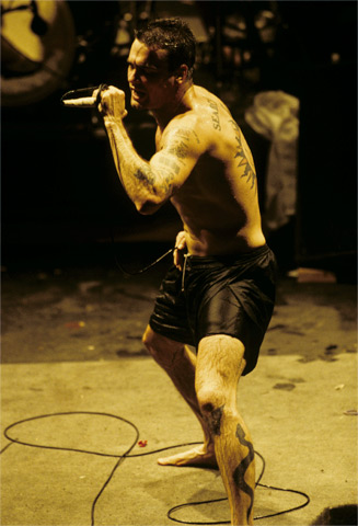 Henry Rollins BG Archives Print from Warfield Theatre on 12 Jul 92: 16x20 C-Print