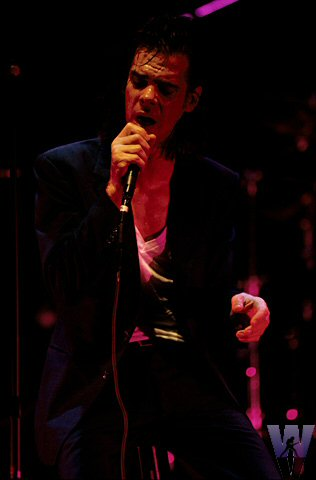 Nick Cave BG Archives Print from Warfield Theatre on 09 Aug 92: 11x14 C-Print