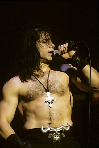 Glenn Danzig BG Archives Print from Warfield Theatre on 29 Oct 92: 11x14 C-Print