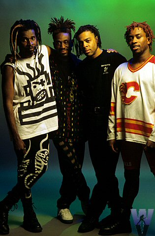 Living Colour BG Archives Print from Warfield Theatre on 05 May 93: 16x20 C-Print