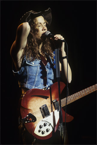 Sheryl Crow BG Archives Print from Warfield Theatre on 22 Mar 94: 16x20 C-Print