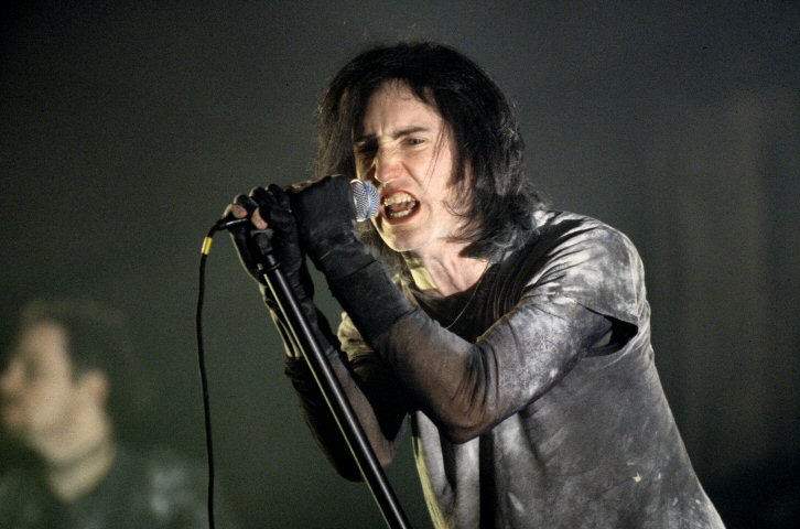 Trent Reznor BG Archives Print from Warfield Theatre on 23 Apr 94: 11x14 C-Print